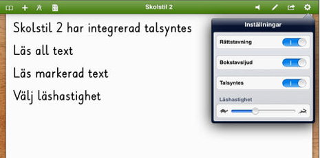Skolstil 2 screenshot